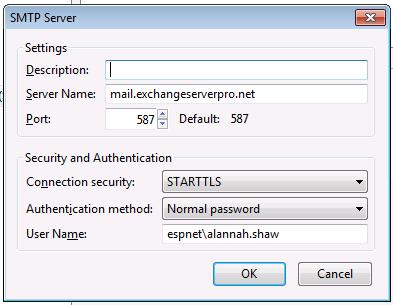 exchange tls certificate name
