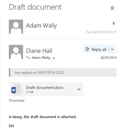 reply all default