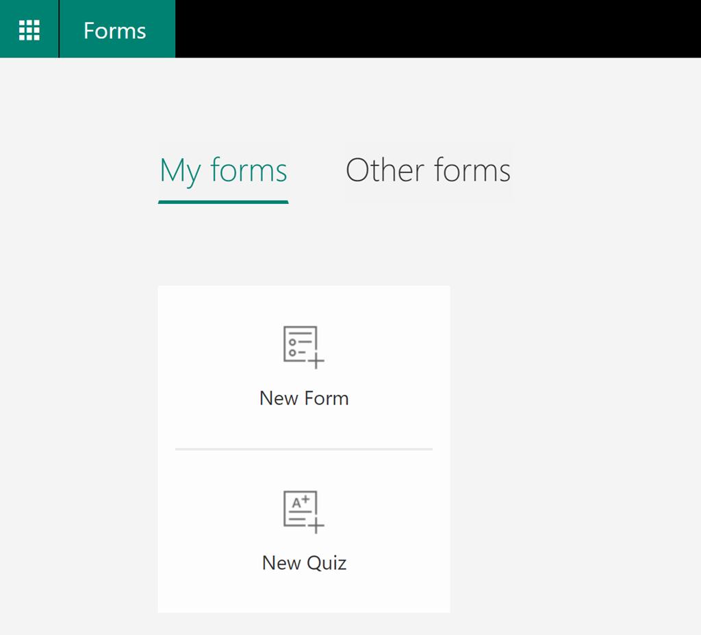 microsoft forms app
