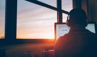 coding sunset