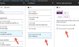 conditional access device state