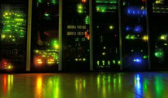 servers glowing