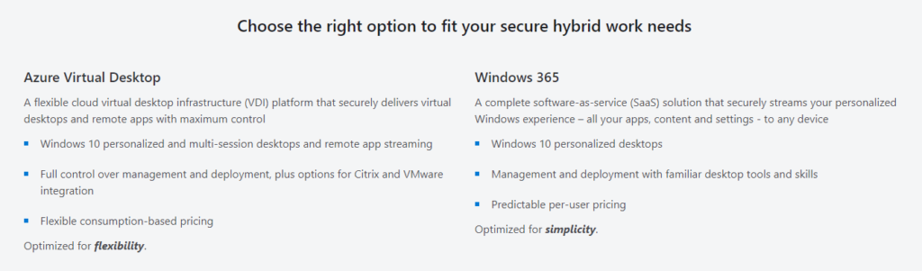 Windows 365 Announced and Azure Virtual Desktop Gains New Features