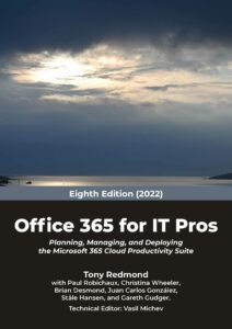Office 365 for IT Pros 2022 Cover New Low Res