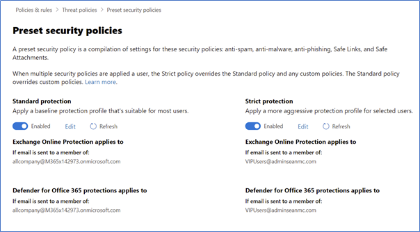 Configuring Microsoft Defender for Office 365