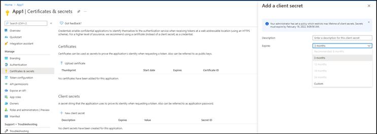 Azure AD App Management Method Policies Harden Application Security Posture